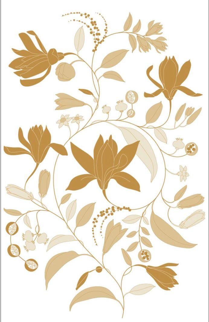 illustration fleur graphique Florence Gendre