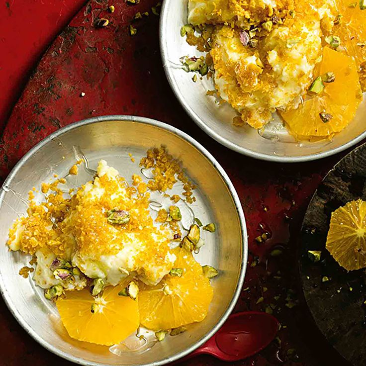 How to make Knafeh - the rich, syrupy treat that is the sweetheart of the Middle East! #Knafeh #Dessert