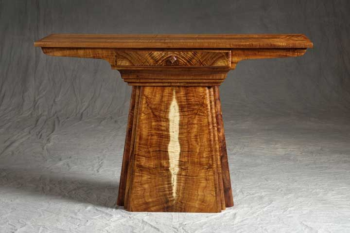Honorable mention 2007  Marcus Castaing, Altar Table