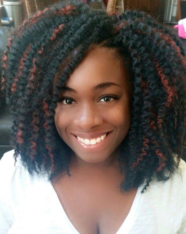 Crochet Braids With Freetress Island Twist In Color 1b 350 Www Crochetbraidsbytwana Com Crochet Hair Styles Crochet Braids Hairstyles Crochet Braids Freetress