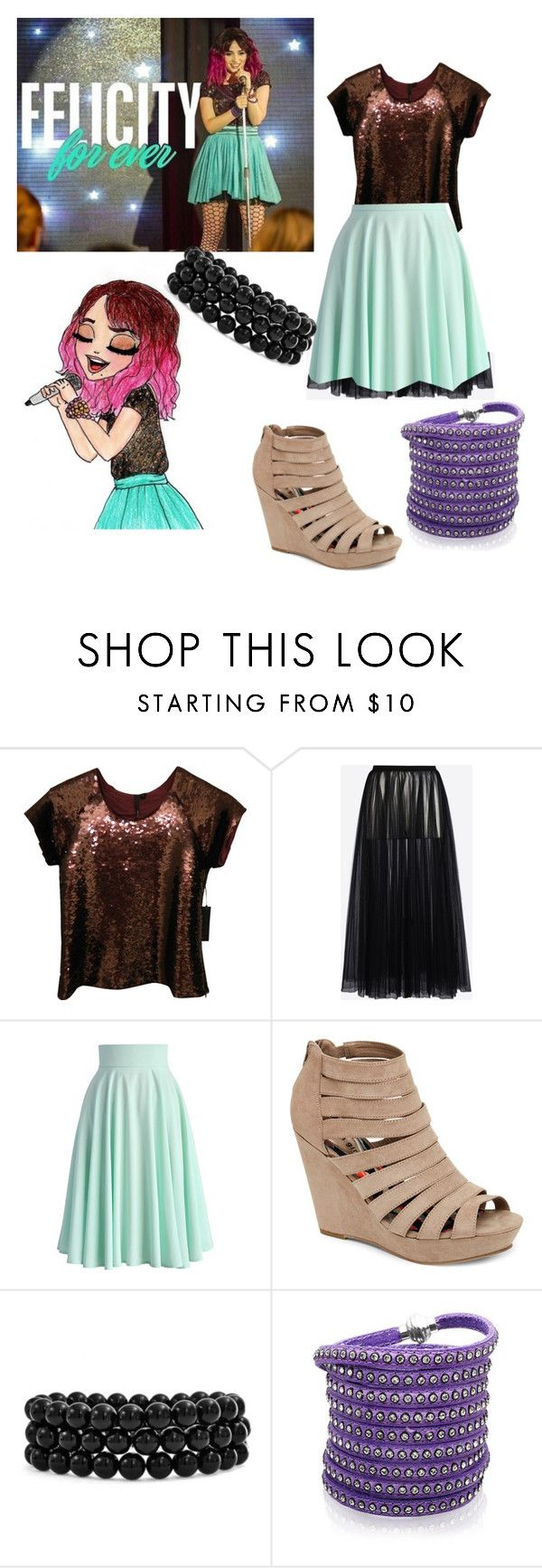"""""""soy luna"""" by maria-look on Polyvore featuring Joe's Jeans, Valentino, Chicwish, Madden Girl, Bling Jewelry and Sif Jakobs Jewellery"""