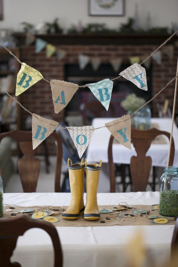 Love the rain boots used as #babyshower decor!: Buttons Vintage, Rain Boots, Vintage Baby Showers, Buttons Baby Shower, Baby Shower Buntings, Baby Babyshower, Babyshower Decor, Baby Shower Cute As A Buttons, Buttons Babyshower