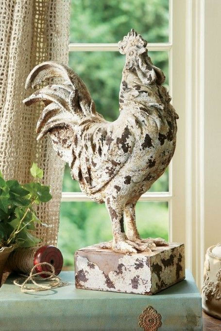 Rooster Francois Statue from Soft Surroundings