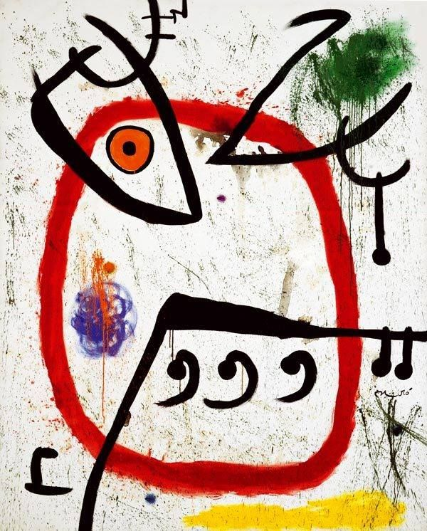 Joan Miró – Femme Espagnole, 1972