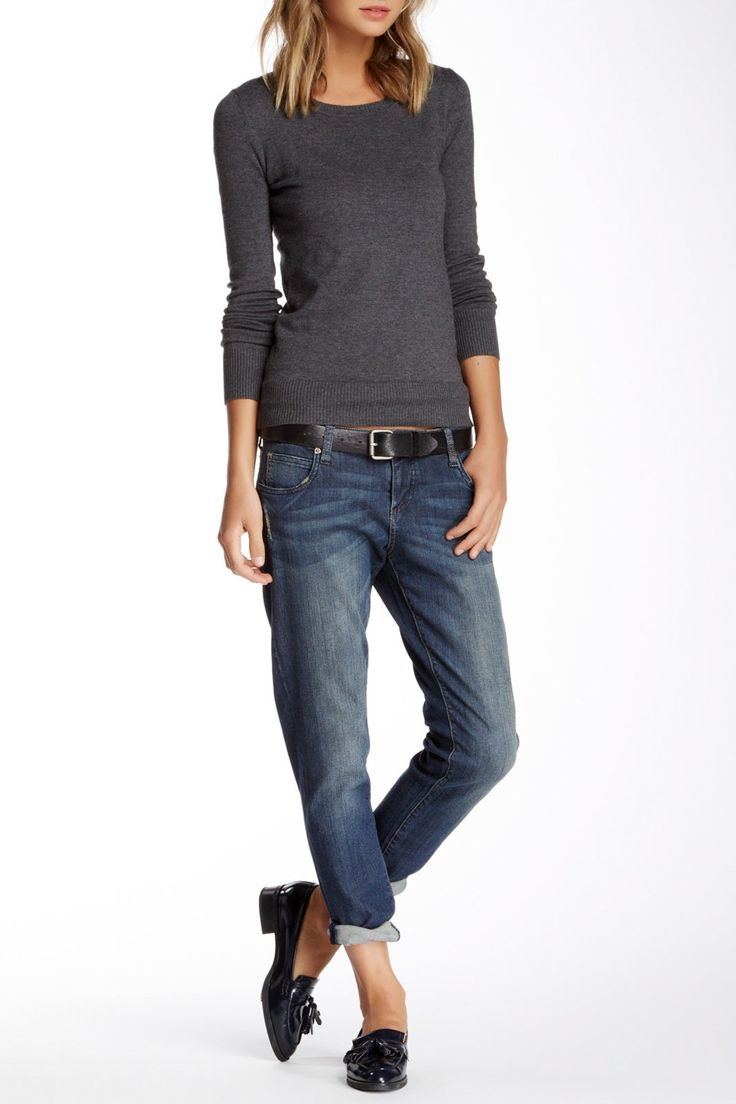 KUT from the Kloth | Cleaned Up Katy Boyfriend Jean | Nordstrom Rack  Sponsored by Nordstrom Rack.