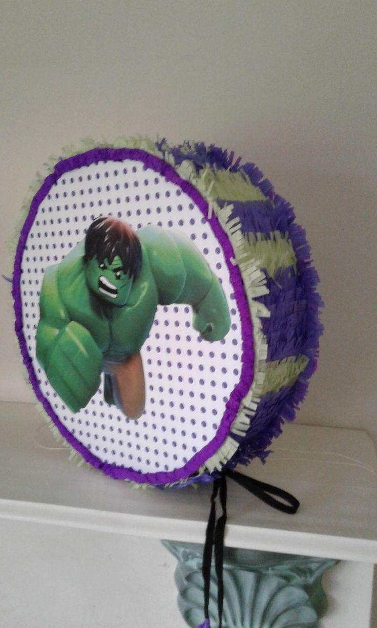 El Increíble Hulk Piñata