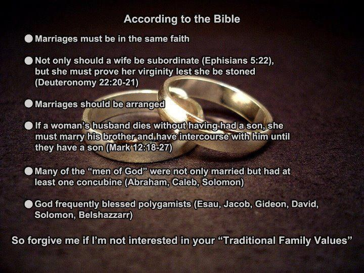 traditional family values: Families Values, Church, Atheism, Traditional Families, Children, Meditation, The Bible, Traditional Marriage, Marriage Equality