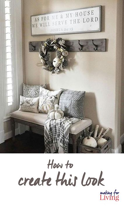How To Create This Entryway Look That Has Been The Most Repinned Image On My