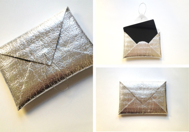 DIY low cost clutch and tablet case