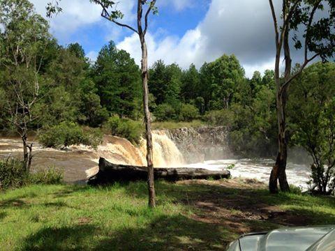 Tooloom Falls, Northern NSW (near Woodenbong) Courtesy of Fran Graham.