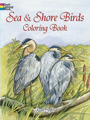 Sea And Shore Birds Coloring Book Dover Nature By Ruth Soffer