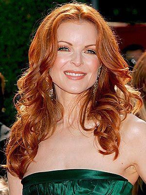 Balcom the beautiful redhead fann