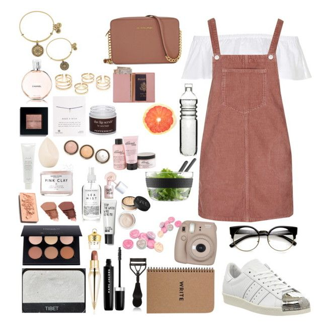 Pretty in pink by mollzhav on Polyvore