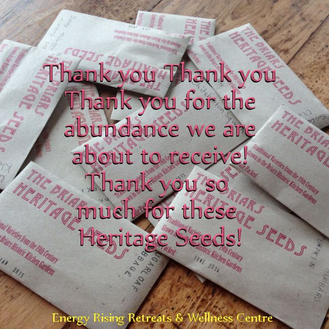Thank you for the #abundance we are about to #receive at https://www.facebook.com/EnergyRisingRetreatsAustralia