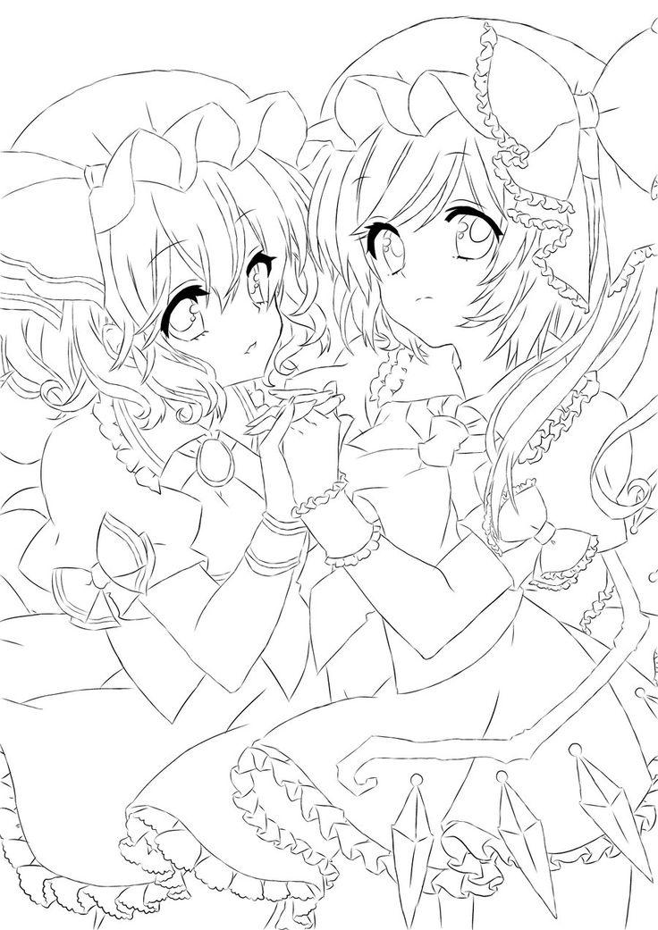 180 best Coloring AnimeManga