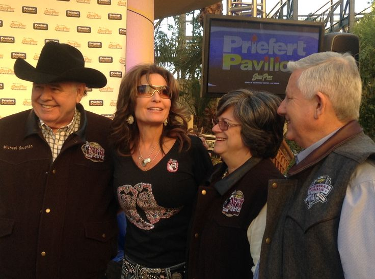 Sarah Palin is a great friend of the Priefert family