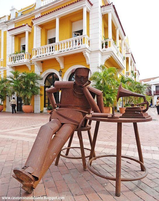Casos e Coisas da Bonfa: Resumão das férias na Colômbia - parte 2: Cartagena de Indias e Playa Blanca