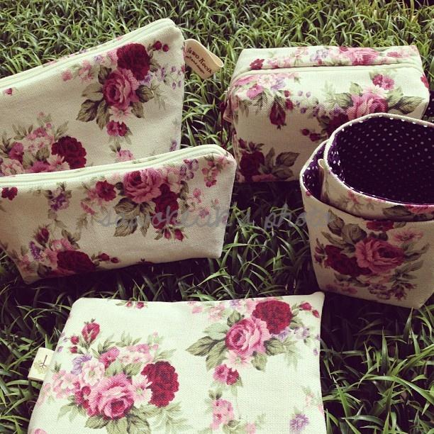 Flowery Canvas set