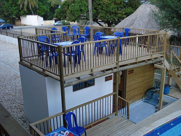 Solarium Hotel Palma Divina en Coveñas