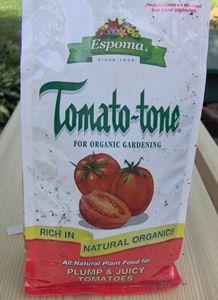 How to Fertilize Tomatoes... Tomato-Tone plus liquid fertilizer... fish emulsion.