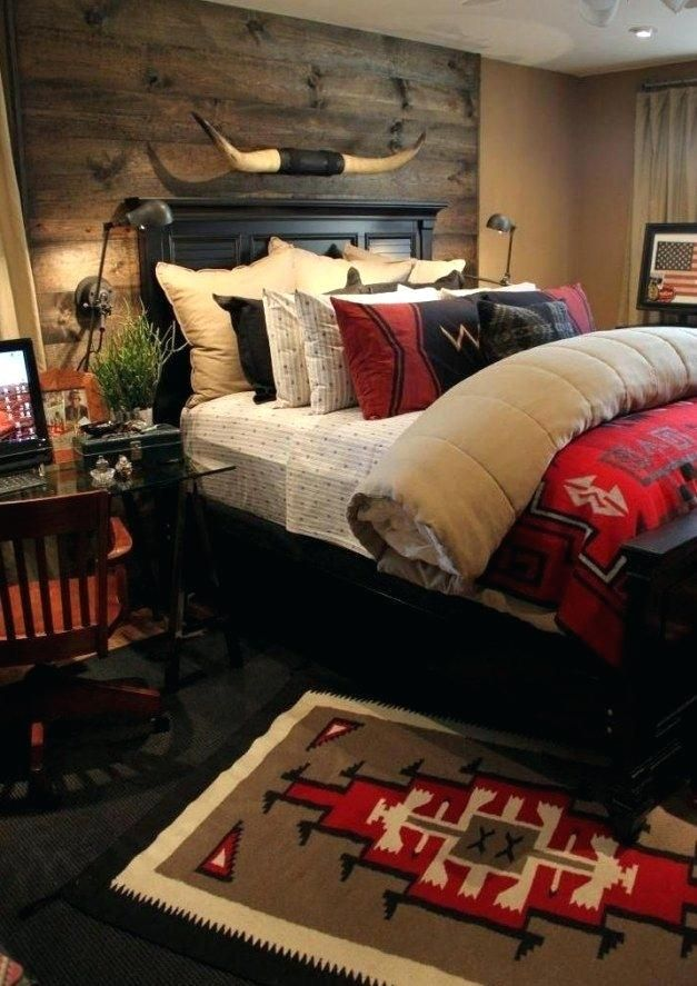 Image Result For Luxury Cabin Decor Red And Black Southwestern