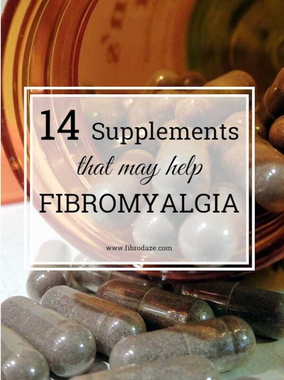 14 Supplements That May Help Fibromyalgia