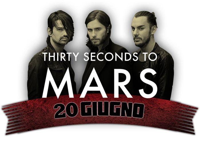 Thirty Seconds to Mars concerto rock in Roma 2014 - Ippodromo delle Capannelle - Roma | concerti roma, festival musica roma, musica roma, the-base, rockinroma 2013,radiohead live roma,nexine