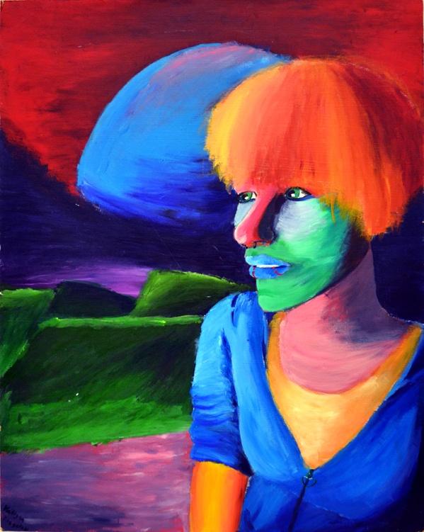 Self Portrait 2011 (Acrylic Paint)