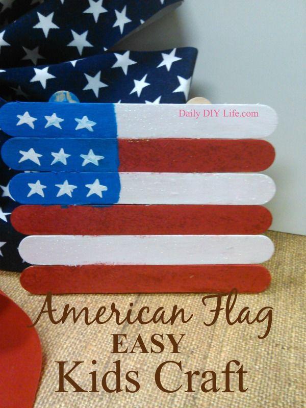 Easy Flag Crafts