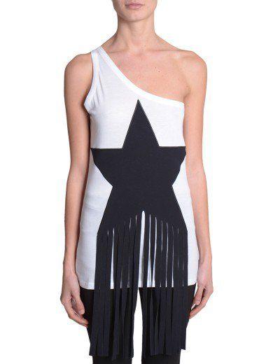 STELLA MCCARTNEY Top Monospalla. #stellamccartney #cloth #topwear