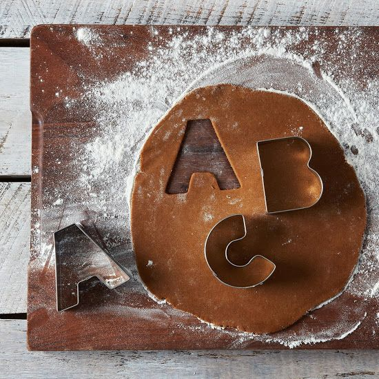 Alphabet Cookie Cutter Set on Food52: http://food52.com/provisions/products/560-alphabet-cookie-cutter-set. #Food52