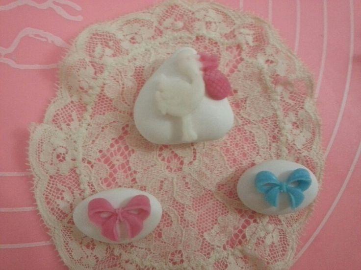 Confetti decorati nascita