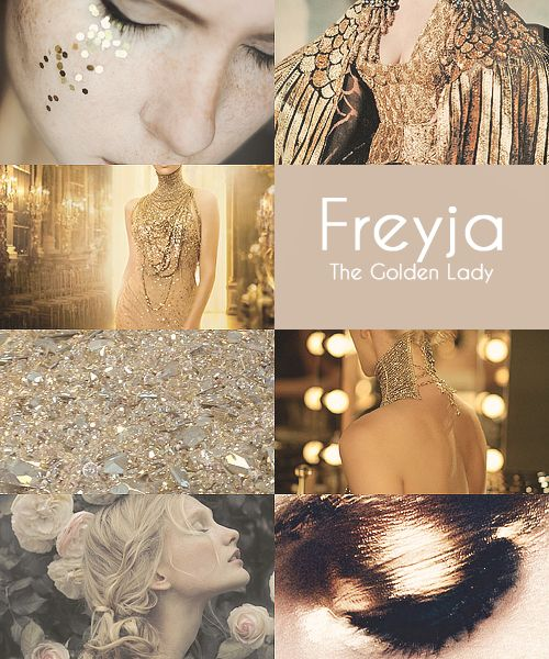 disa:  Mythology Meme|| (8/10) Women of the Norse Pantheon  Hail to the Jeweled Lady on Lammas morning whose flesh is her treasure,  and worth all the greatest treasure, all that gold can buy. (x)