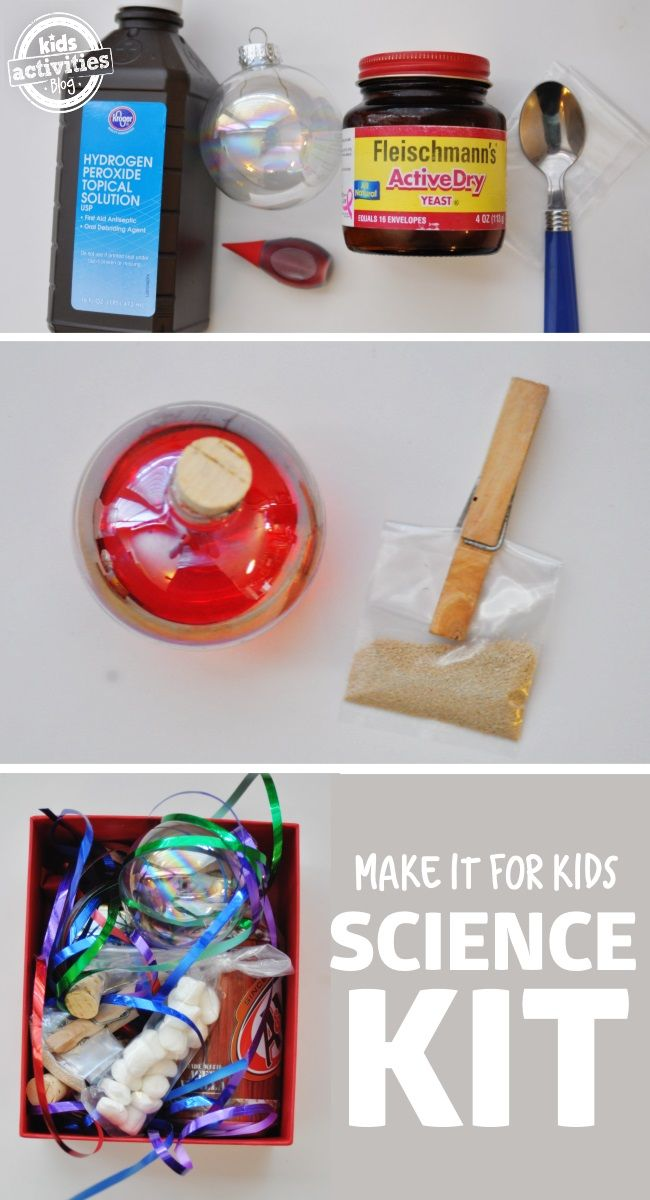 Totally Awesome Kids Science Kit {You can make it!!}