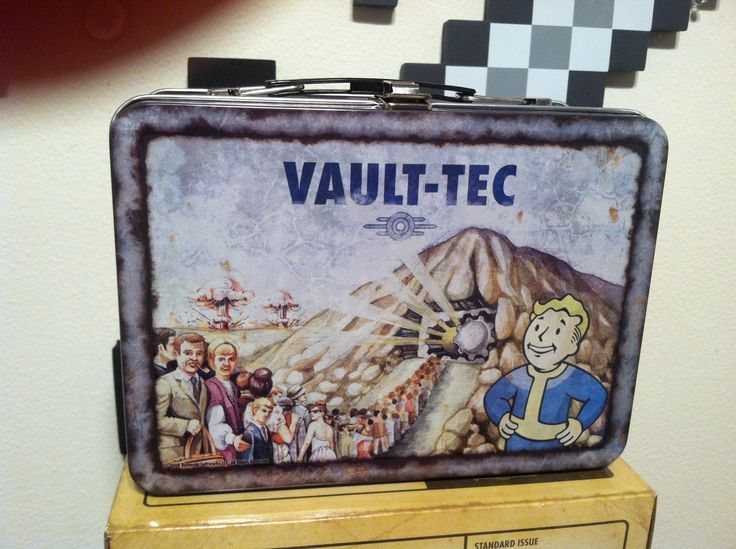 how to make vault tec lunchbox
