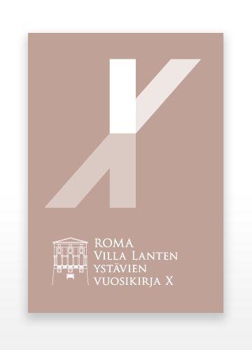 Hahmo   Graphic Design   Villa Lante -vuosikirja X   Villa Lante Annual X