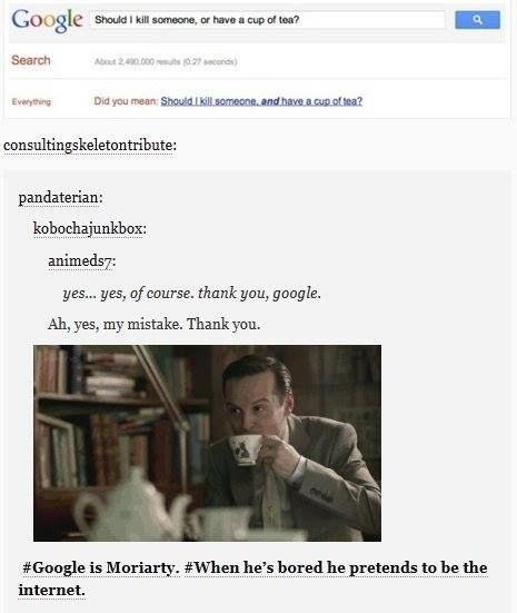 The truth about Google. It's Moriarty.