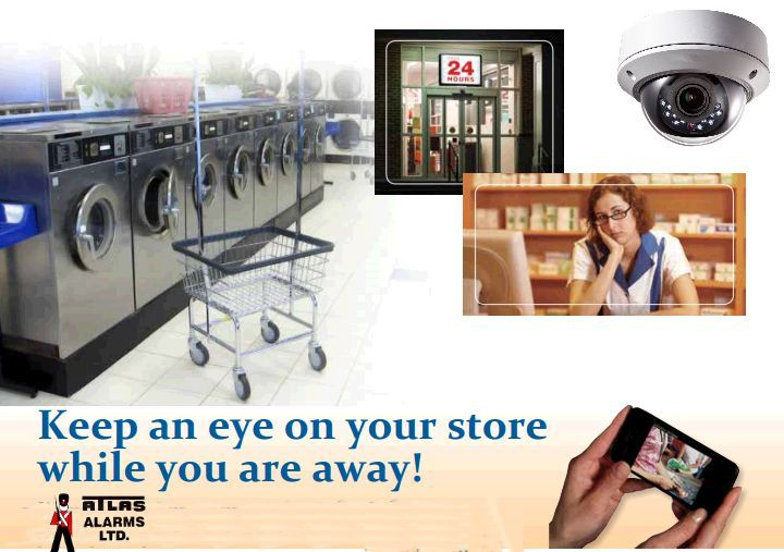 Keep an eye on your store while you are away!