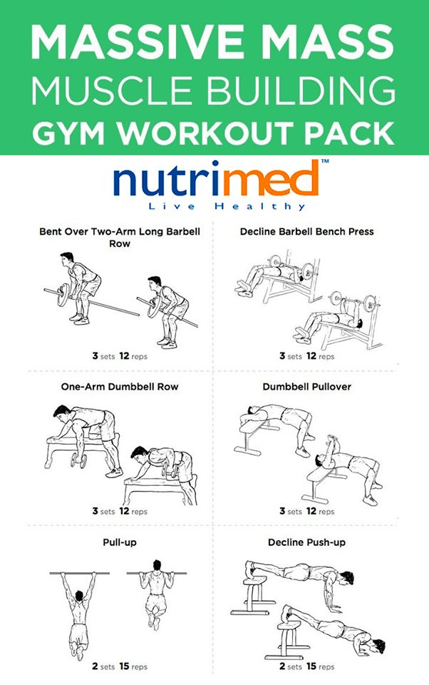 - Massive Mass Building Workout Chart -  www.nutrimed.co.in