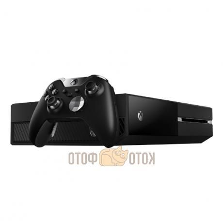 Игровая консоль Xbox One 1 Тб с гибридной памятью + геймпад Elite (KG4-00062)