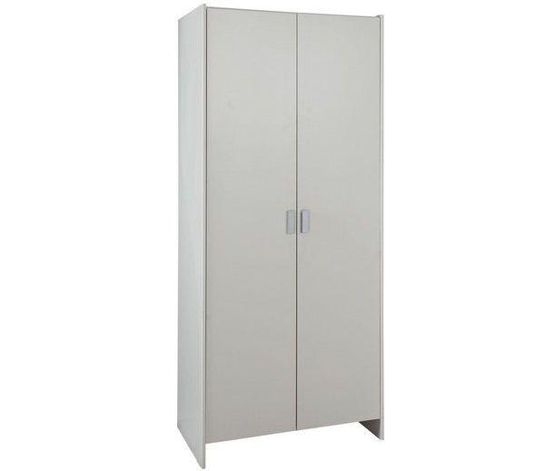 White Color Two Door Wardrobe Id538 - Two Door Wardrobe Designs - Wardrobe Designs - Product Design