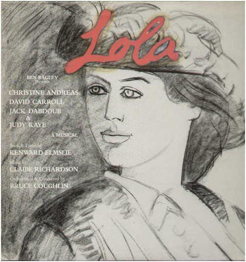 1982 Ben Bagley presents Lola [Painted Smiles PS-1335] artwork: Alex Katz #albumcover