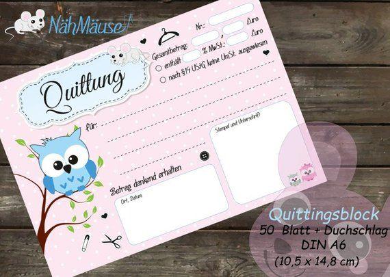 Dein Marktplatz Um Handgemachtes Zu Kaufen Und Verkaufen Owl Writing Receipt
