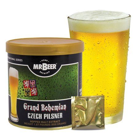 Mr. Beer Czech Pilsner Beer Making Refill Kit