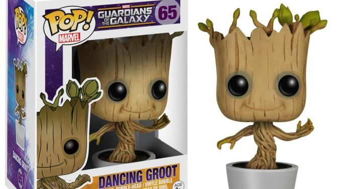 Dancing Groot Toy Created for 'Guardians