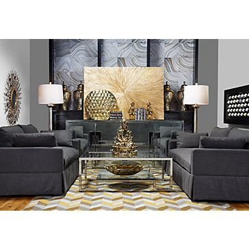 Charcoal sofa voyage and living room furniture on pinterest for X gallery furniture