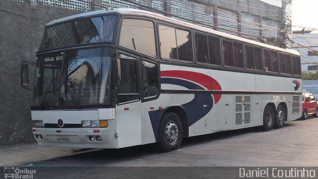 Ônibus da empresa Pluma Conforto e Turismo, carro 3665, carroceria Marcopolo Paradiso GV 1150, chassi Scania K113TL. Foto na cidade de Rio de Janeiro-RJ por Daniel Coutinho, publicada em 11/10/2016 23:51:18.
