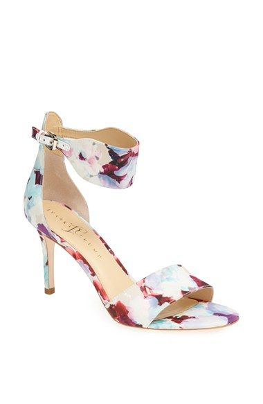 Ivanka Trump 'Gelana' Floral Sandal available at #Nordstrom