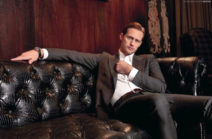 Dear Alexander Skarsgard, Please play Christian Grey.