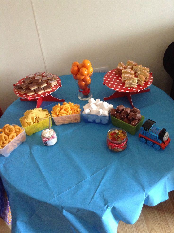 Thomas The Train Birthday Food Ideas